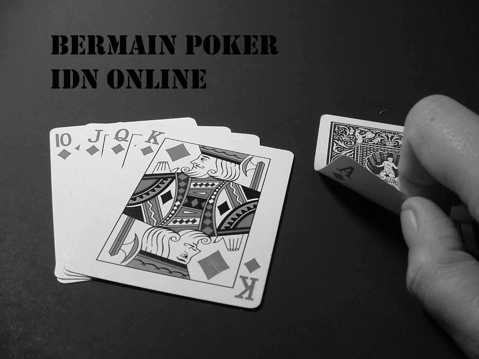 Bermain Poker IDN Online